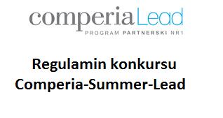 Logo Comperialead, Nagłówek: Regulamin konkursu Comperia-Summer-Lead
